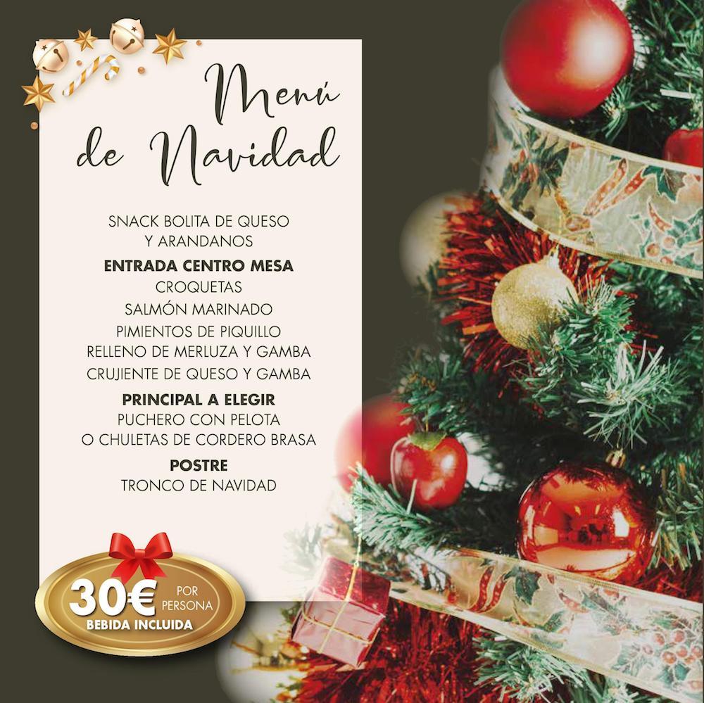 menú de navidad en Molí de Xirles EVENTOS